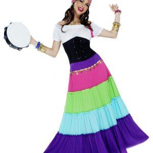 Women's Vibrant Gypsy Costume