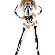 Women's White Bad to the Bone Costume
