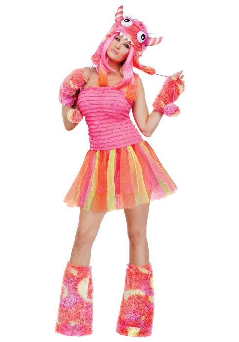 Women's Wild Child Monster Costume