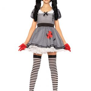 Women's Wind Me Up Dolly Costume