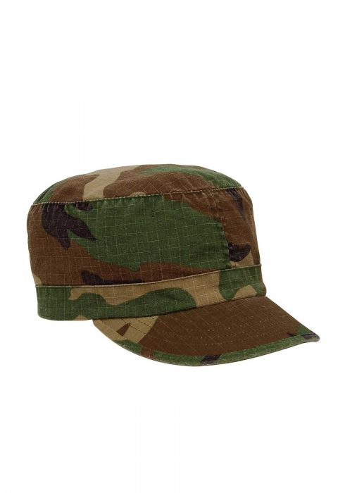 Women's Woodland Camo Fatigue Hat