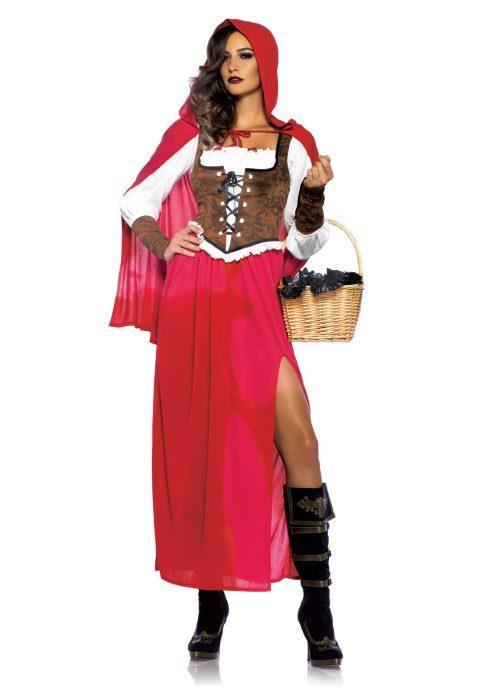 Women's Woodland Red Riding Hood Costume