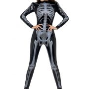 Women's X-Ray Skeleton Jumpsuit