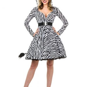 Women's Zebra Costume