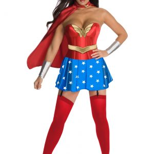 Wonder Woman Corset Costume