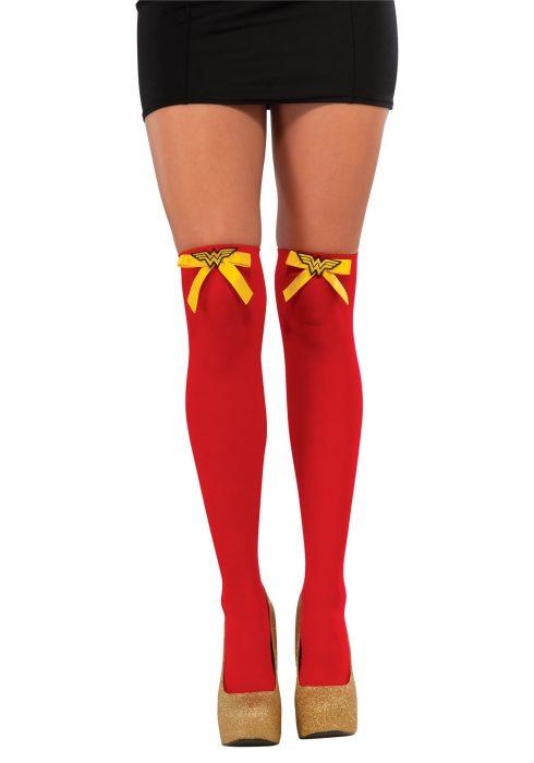 Wonder Woman Thigh High Stockings
