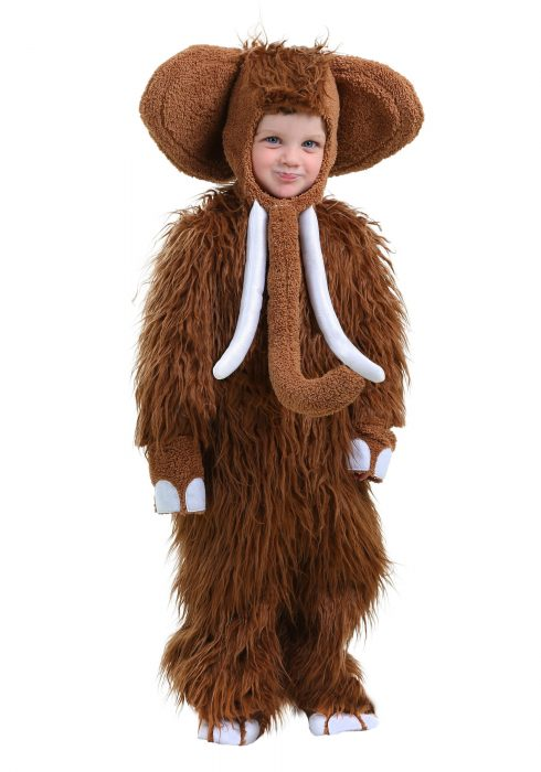 Woolly Mammoth Toddler Costume