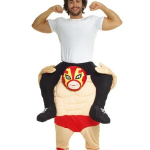Wrestler Piggyback Mens Costume