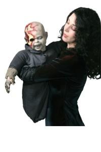 Zombie Baby Puppet