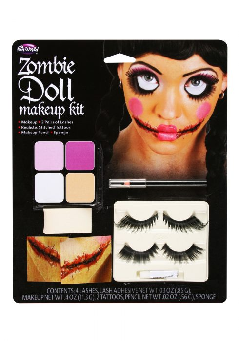 Zombie Doll Makeup