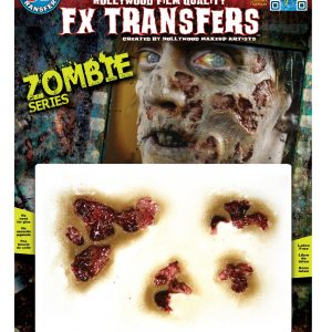 Zombie Rot Temporary 3-D Tattoo Kit